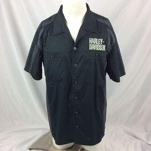 Harley Davidson Button Down Performance Shirt